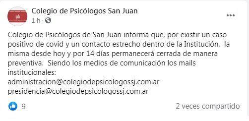 colegio de psicologos san juan