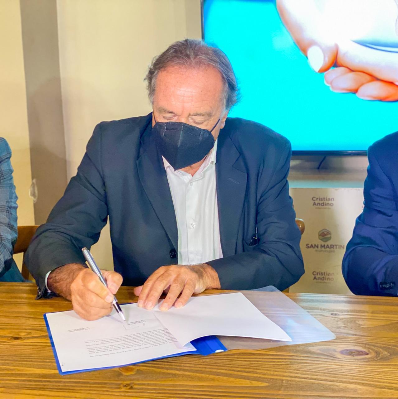 fundacion sanatorio argentino firma con san martin