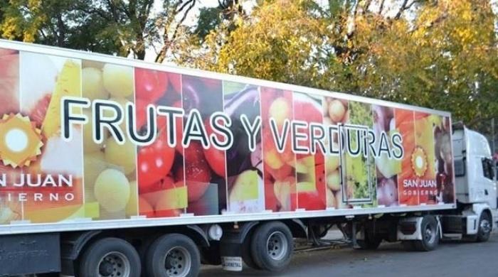 Resultado de imagen para camion de frutas y verduras san juan