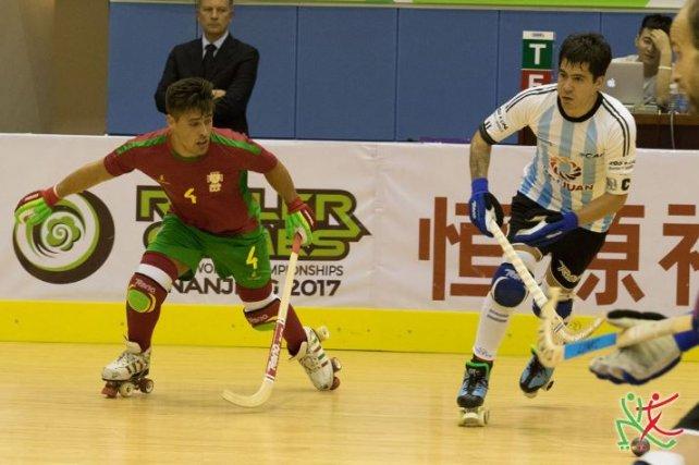 Resultado de imagen para mundial de hockey sobre patines argentina vs portugal